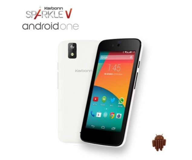 The Android One Phone Karbonn Sparkle V Goes for Sells in the UK