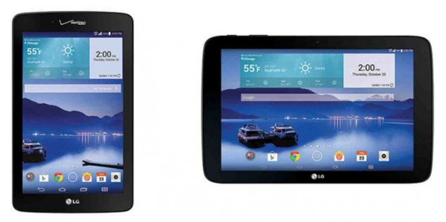 LG G Pad 7.0 LTE and G Pad 10.1 LTE arrive in Verizon