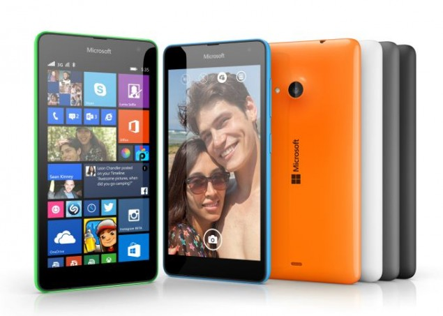 Microsoft Lumia 535 is Getting Released in India