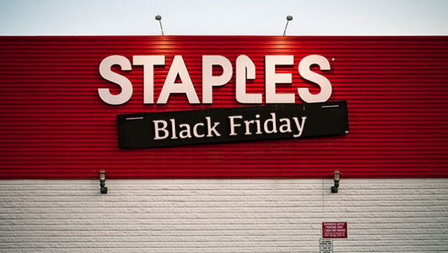6 Days of Promotions by Staples for Black Friday