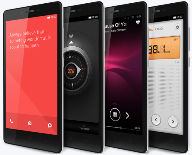 Xiaomi Redmi Note is going for sells in India in December