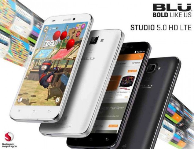 BLU Released Three New Smartphones of the Studio Series