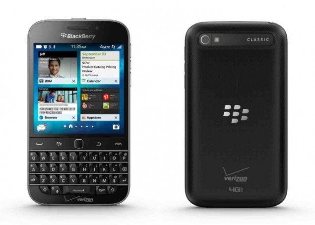BlackBerry Classic is official