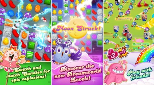 Candy Crush Saga is Available for Windows Phone