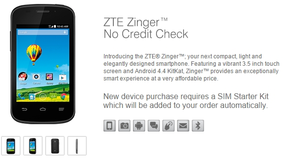ZTE Zinger and ZTE Speed are the new additions to T-Mobile and Boost Mobile