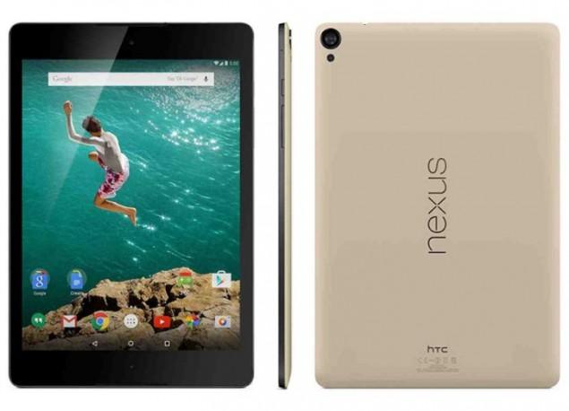 Google Play Store released Nexus 9 in Sand