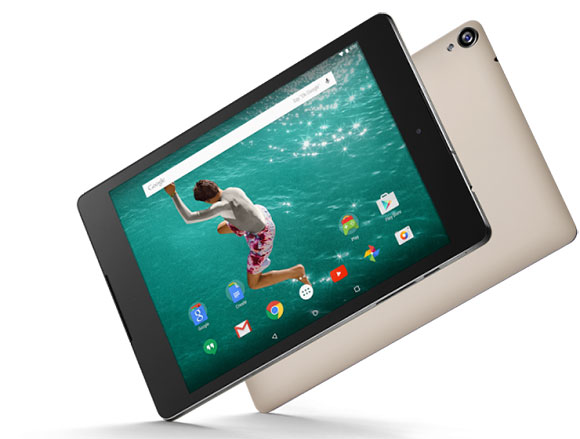 Nexus 9 is launched in Sand