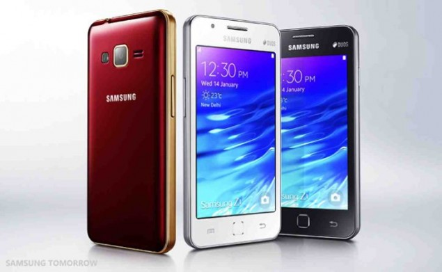 Samsung Z1 is presented in India
