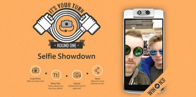 Oppo announced the Selfie Showdown Contest