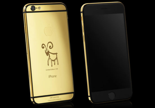 Goldgenie Unveiled iPhone 6 Elite Year of the Goat Limited Edition