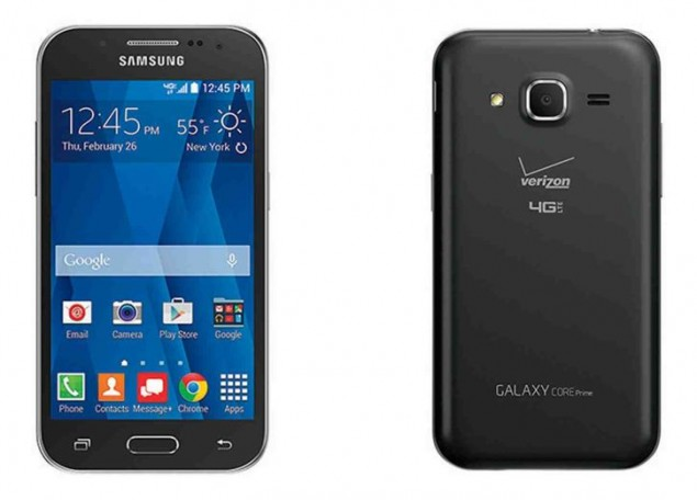 Verizon Wireless is Launching Samsung Galaxy Core Prime on Feb 26