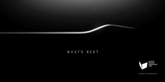 Samsung's invitations for Unpacked 2015 are rolling-out