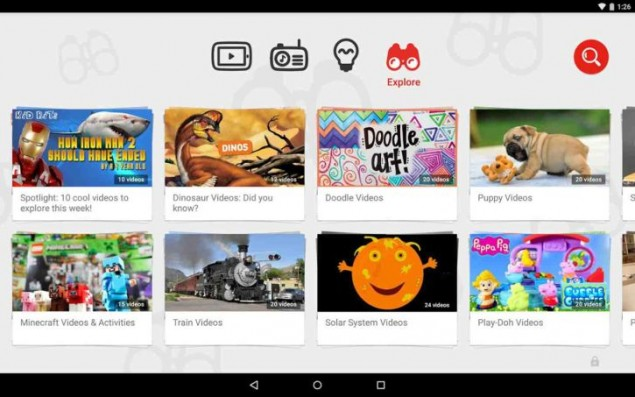 Google Released YouTube Kids for iOS and Android