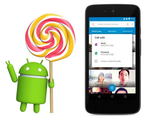 Google Revealed Android 5.1 Lollipop