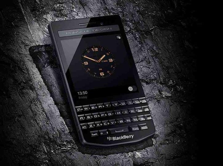 BlackBerry Porsche Design P'9983 Graphite is officially announced