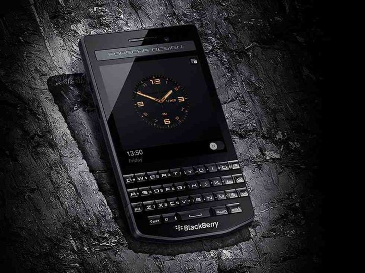 BlackBerry Porsche Design P'9983 Graphite is Officially Unveiled