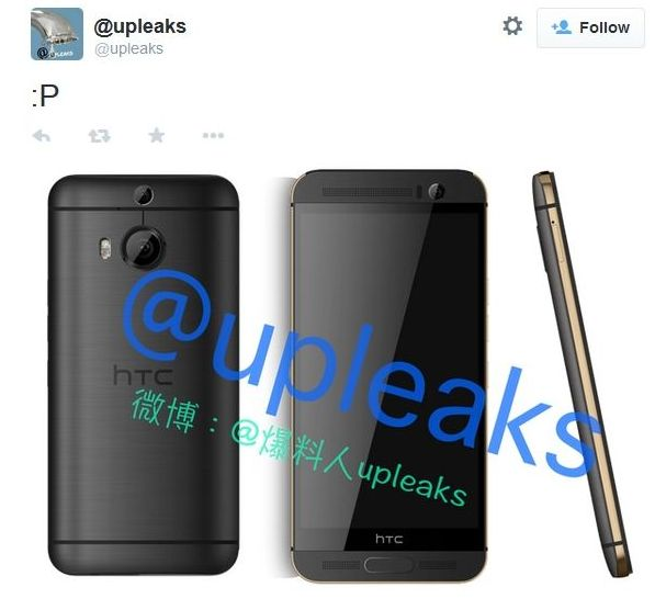 Alleged Render Photos of HTC One M9+ Surfaced on the Web