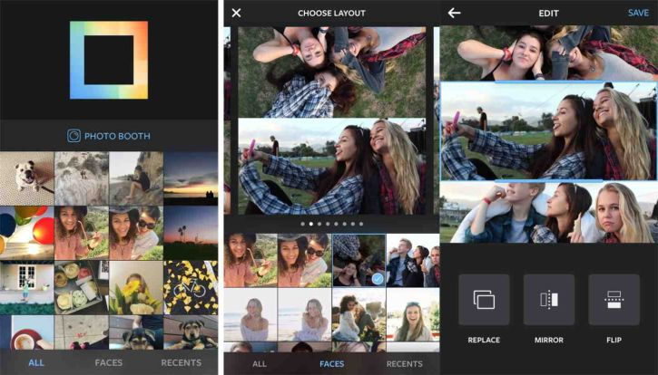 Layout from Instagram is officially released for iOS