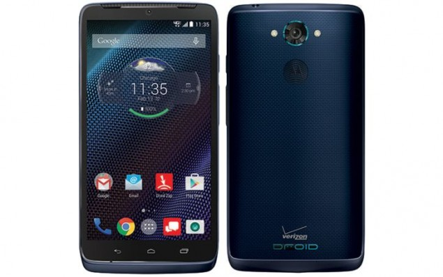 Motorola Droid Turbo in Blue Goes for Sells in Verizon