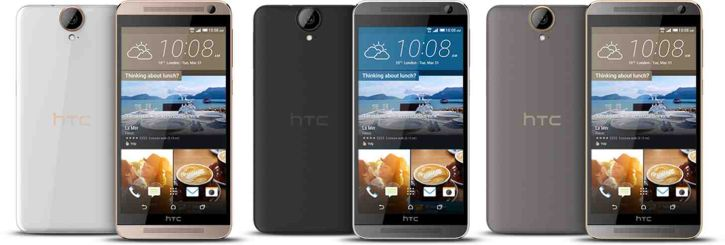HTC China included HTC One E9+