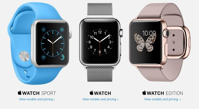 Pre-Orders for Apple Watch are Announced, Shipping is Scheduled in 4-6 Weeks
