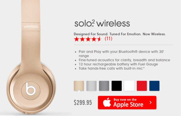 Beats Solo2 Wireless is coming in more colors