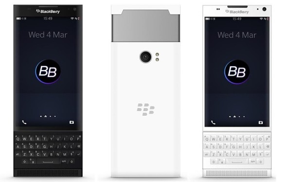 New Leak Shows Three Unannounced Smartphones of BlackBerry
