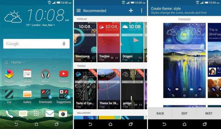 The Update of HTC BlinkFeed is Released as HTC Sense Home App