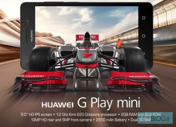 Huawei G Play Mini is introduced