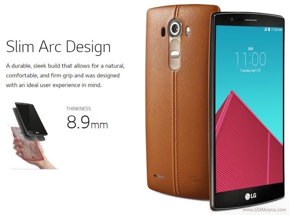 Render Photos of LG G4 Revealed Ahead of Announcement