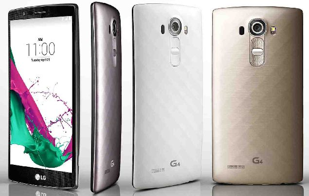 LG G4 is introduced