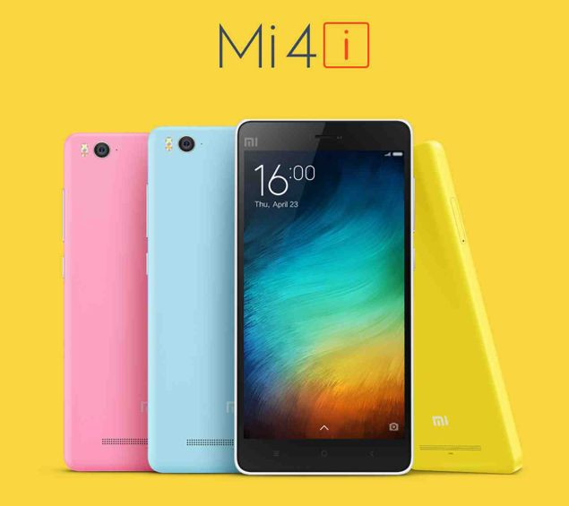 Xiaomi Mi 4i goes official