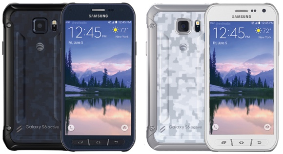 Samsung Galaxy S6 Active appears in render images