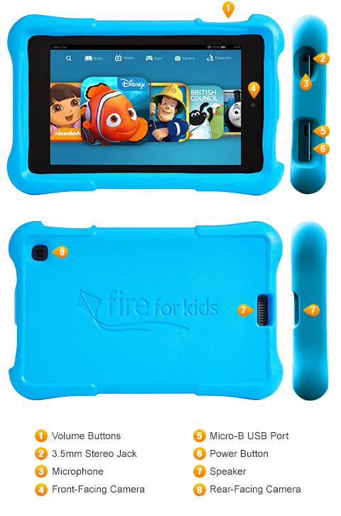 Amazon Kindle Fire HD 6 Kids Edition is announced in the UK