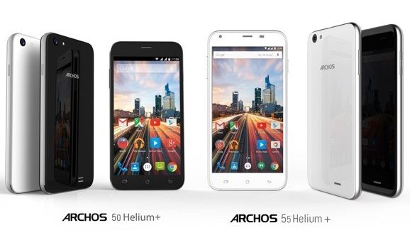 Archos Presented the LTE-Enabled 50 Helium Plus and 55 Helium Plus