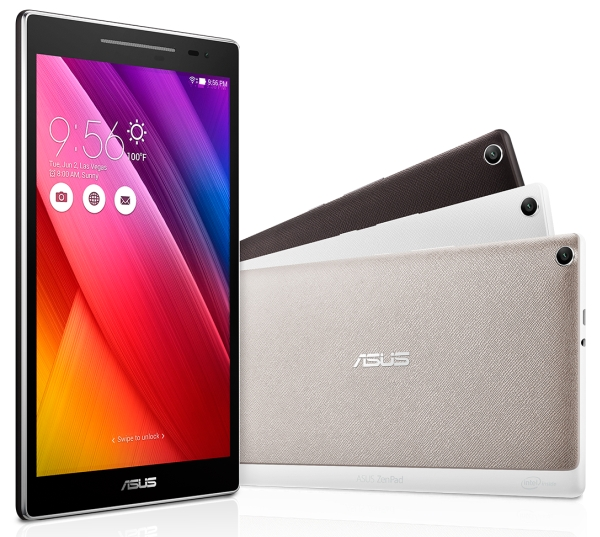 New Asus ZenPad Tablets are Unveiled at Computex Taipei