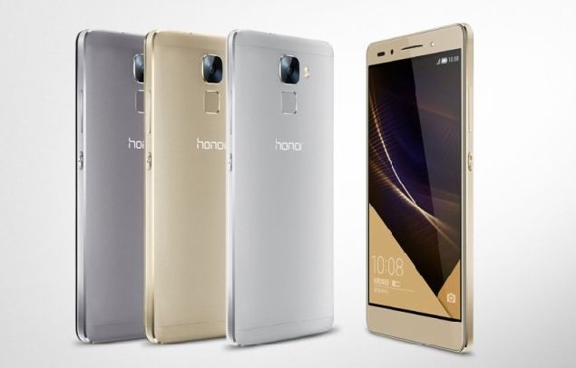 Huawei Honor 7 is unveiled