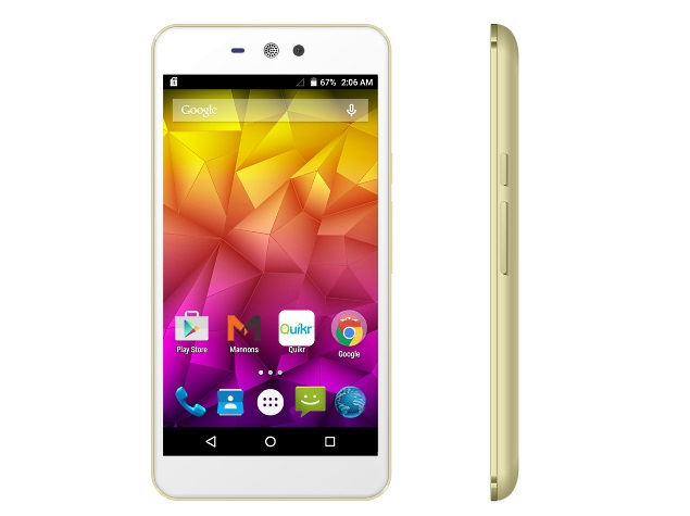 Micromax Canvas Selfie Lens is launched in India