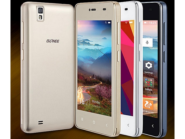 Gionee Pioneer P2M is unveiled