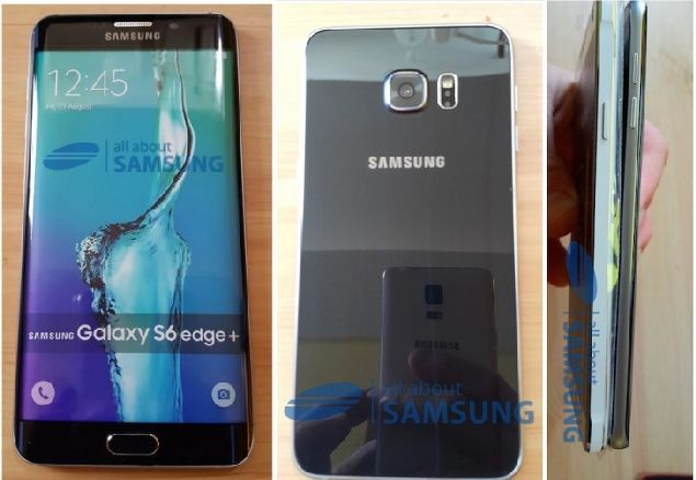 Samsung Galaxy S6 edge Plus Smiles for the Camera in a New Leak
