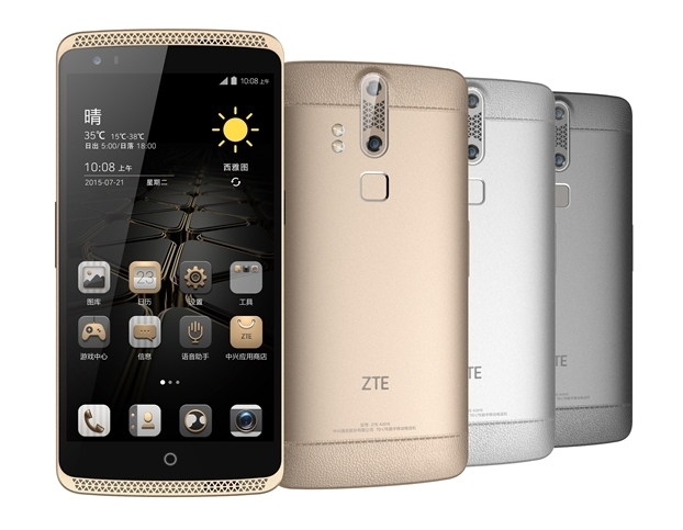 ZTE Axon is Unveiled in China Along with New Smartphones and a Smartwatch