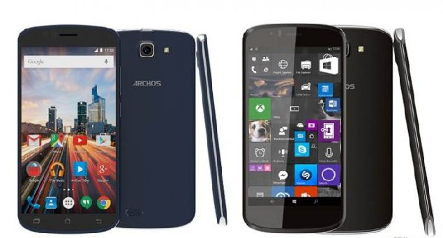 Archos 50 Cesium and Archos 50e Helium and Archos Diamond S are introduced