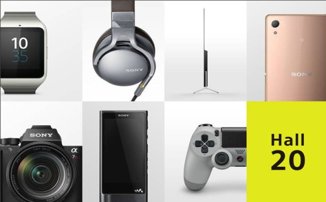 Sony at IFA on September 2nd