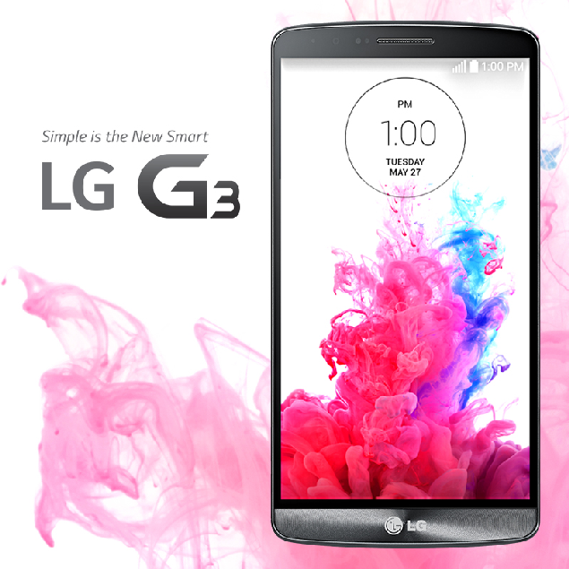 LG G3 is here