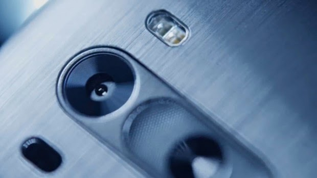 LG G3 with an impressive rear camera