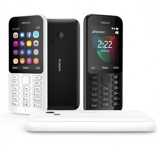 Nokia 222 and 222 Dual-SIM are unveiled