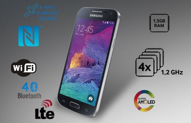Samsung Galaxy S4 mini plus is up-for-grabs in Europe