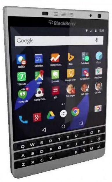 BlackBerry Venice is presented in renders again
