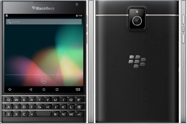 BlackBerry Venice was spotted in renders from a new leak