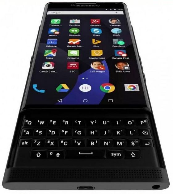 BlackBerry Venice is caught on camera once again